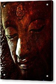 Siddhartha Acrylic Print by Nick Young
