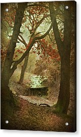 Sighs Of Love Acrylic Print by Laurie Search