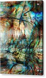 Silent Warrior Acrylic Print by Linda Sannuti