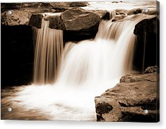 Silken Waters Acrylic Print by Tamyra Ayles