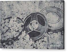 Silver Screen Film Noir Acrylic Print by Jorgo Photography - Wall Art Gallery