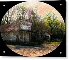 Silverville Ghost Town Acrylic Print by Julie Dant