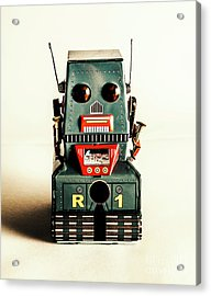 Simple Robot From 1960 Acrylic Print by Jorgo Photography - Wall Art Gallery
