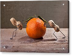 Simple Things - Antagonism Acrylic Print by Nailia Schwarz