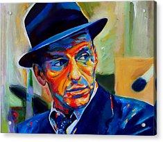 Sinatra Acrylic Print by Vel Verrept