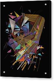 Singularity Acrylic Print by Francisco Valle