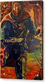 Sir Gaiwan Acrylic Print by David Matthews