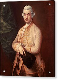 Sir Robert Clayton Acrylic Print by Thomas Gainsborough