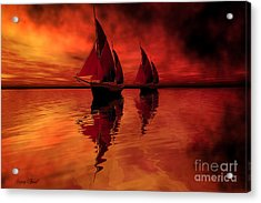 Siren Song Acrylic Print by Corey Ford