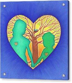 Sisters Acrylic Print by Lisa Kretchman
