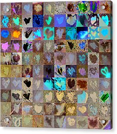 Six Hundred Series Acrylic Print by Boy Sees Hearts