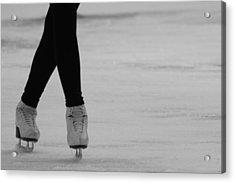 Skating Acrylic Print by Lauri Novak