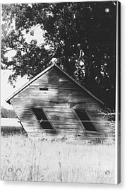 Skewed Acrylic Print by The Stone Age