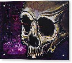 Skullfork 10 Acrylic Print by David Buschemeyer