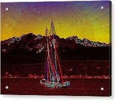 Sky Diamonds Acrylic Print by Tim Allen
