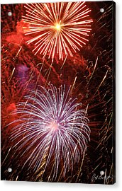 Sky Explosion Acrylic Print by Phill Doherty