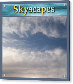 Skyscapes Gallery Icon Acrylic Print by Glenn McCarthy Art and Photography