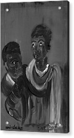 Slave Trade - Dont Sin Me Acrylic Print by Robert Lee Hicks