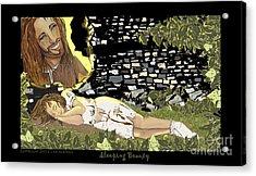 Sleeping Beauty Acrylic Print by Lisa  Albinus