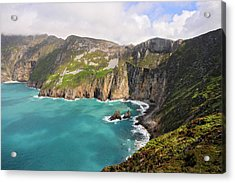 Slieve League Donegal Ireland Acrylic Print by Pierre Leclerc Photography