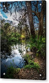 Slow Drift Acrylic Print by Marvin Spates