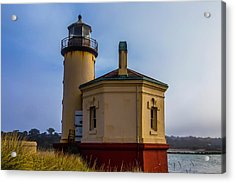 Small Coquile River Lighthouse Acrylic Print by Garry Gay