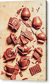Smashing Chocolate Fondue Party Acrylic Print by Jorgo Photography - Wall Art Gallery