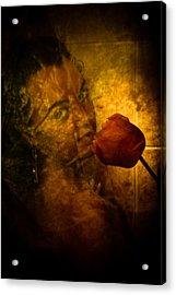 Smelling The Flowers Acrylic Print by Scott Sawyer