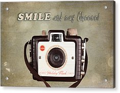 Smile And Say Cheese Acrylic Print by Tom Mc Nemar