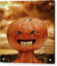 Smiling Jack Acrylic Print by Wim Lanclus