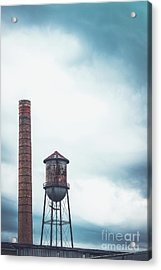 Smoke And Water Acrylic Print by Colleen Kammerer