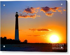 Smokestack Barnegat Acrylic Print by Olivier Le Queinec
