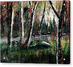 Smoky Mountain Dawn Acrylic Print by Barry Jones