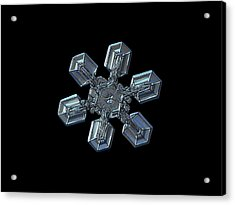 Snowflake Photo - High Voltage II Acrylic Print by Alexey Kljatov