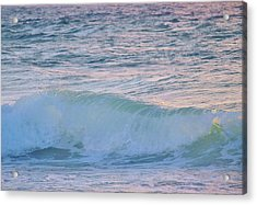 Soft Oceans Breeze  Acrylic Print by E Luiza Picciano