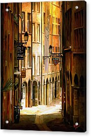 Sol Cafe Acrylic Print by James Shepherd