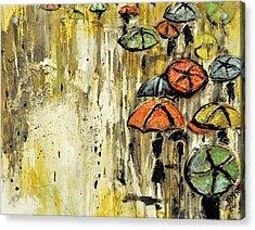 Sold Under The Weather Acrylic Print by Amanda  Sanford