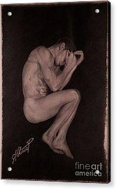 Soledad Acrylic Print by Alex Chinea Pena