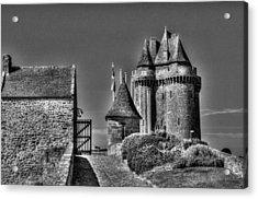 Solidor Gate Acrylic Print by Karo Evans