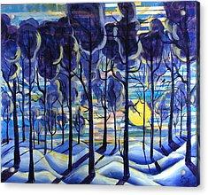 Solitude Acrylic Print by Rollin Kocsis