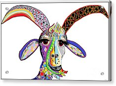 Somebody Got Your Goat? Acrylic Print by Eloise Schneider
