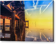 Acrylic Print featuring the photograph Somewhere Else by Thierry Bouriat