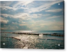 Song Of The Sea Acrylic Print by Amy Tyler