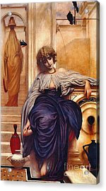Songs Without Words 1860 Acrylic Print by Padre Art