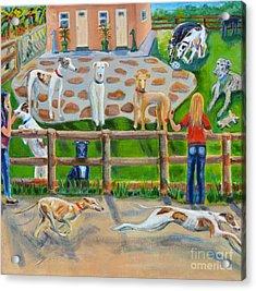 Sonia's Farm Acrylic Print by Diane Hagg