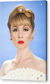 Sophisticated Lady Acrylic Print by Amanda And Christopher Elwell