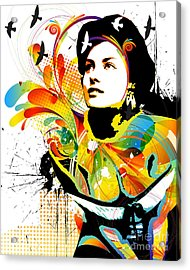 Soul Explosion I Acrylic Print by Chris Andruskiewicz