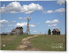South Dakota: Windmill Acrylic Print by Granger