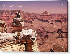 South Rim, Grand Canyon Acrylic Print by Noelle Smith