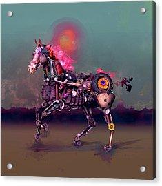 South Acrylic Print by Robert Palmer